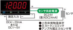 センサ供給用DC24V付き